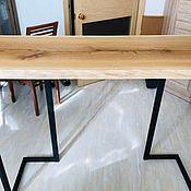 Столы ручной работы. Ярмарка Мастеров - ручная работа Барная стойка на кухню из дуба. Handmade.