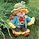 Человечки ручной работы. Ярмарка Мастеров - ручная работа. Купить Вязаная кукла из шерсти  Мужичок-лесовичок. Handmade. Куклы