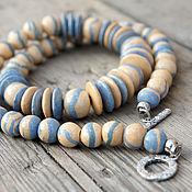 Украшения handmade. Livemaster - original item Ceramic beads