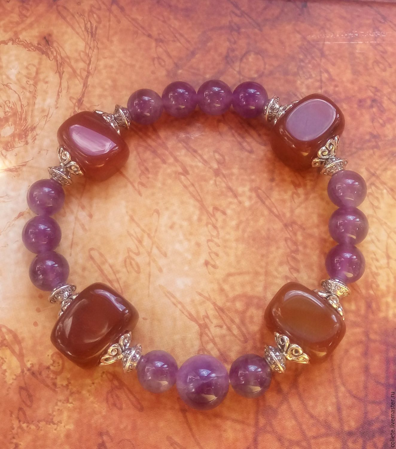 A bracelet made of stones is a Talisman for strong and purposeful natures, Bead bracelet, Moscow,  Фото №1