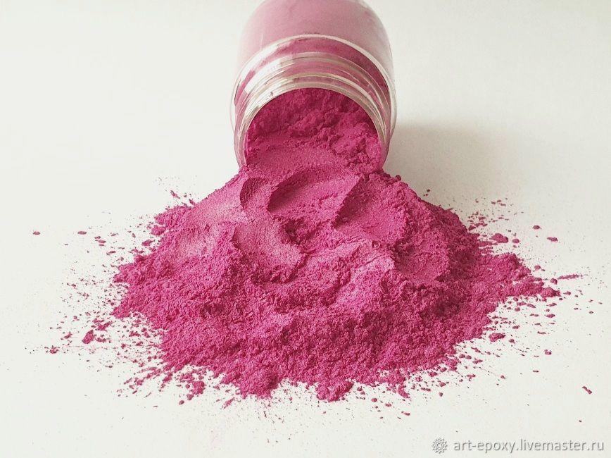 Pearl pigment. Color fuchsia. Volume 10 preparednes resin, Glitters, Volgograd,  Фото №1