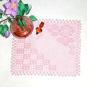 Для дома и интерьера handmade. Livemaster - original item Square doily crochet