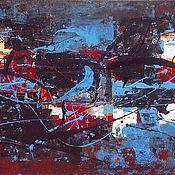 Картины и панно ручной работы. Ярмарка Мастеров - ручная работа Abstract 001. Handmade.