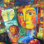 Картины и панно ручной работы. Ярмарка Мастеров - ручная работа АВТОРСКАЯ КАРТИНА НАТЮРМОРТ ПАСТЕЛЬЮ ИСКУШЕНИЕ. Handmade.