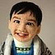 Портретные куклы ручной работы. портретная кукла мальчик Хо. Диана Грант (zumzum-latvija). Интернет-магазин Ярмарка Мастеров.