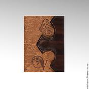 """Кошельки ручной работы. Ярмарка Мастеров - ручная работа Обложка - портмоне """"Mr. Van Gogh"""". Handmade."""