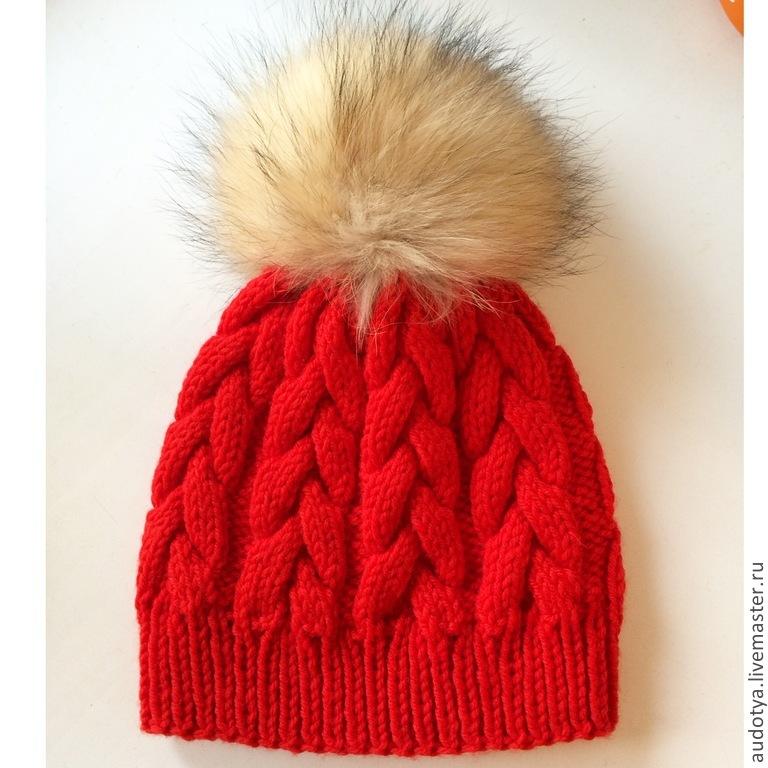 Как сделать помпоны для вязаной шапки 428