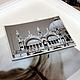 Фото `Венеция в сентябре`  15х20 см на металлической бумаге с обрамлением.