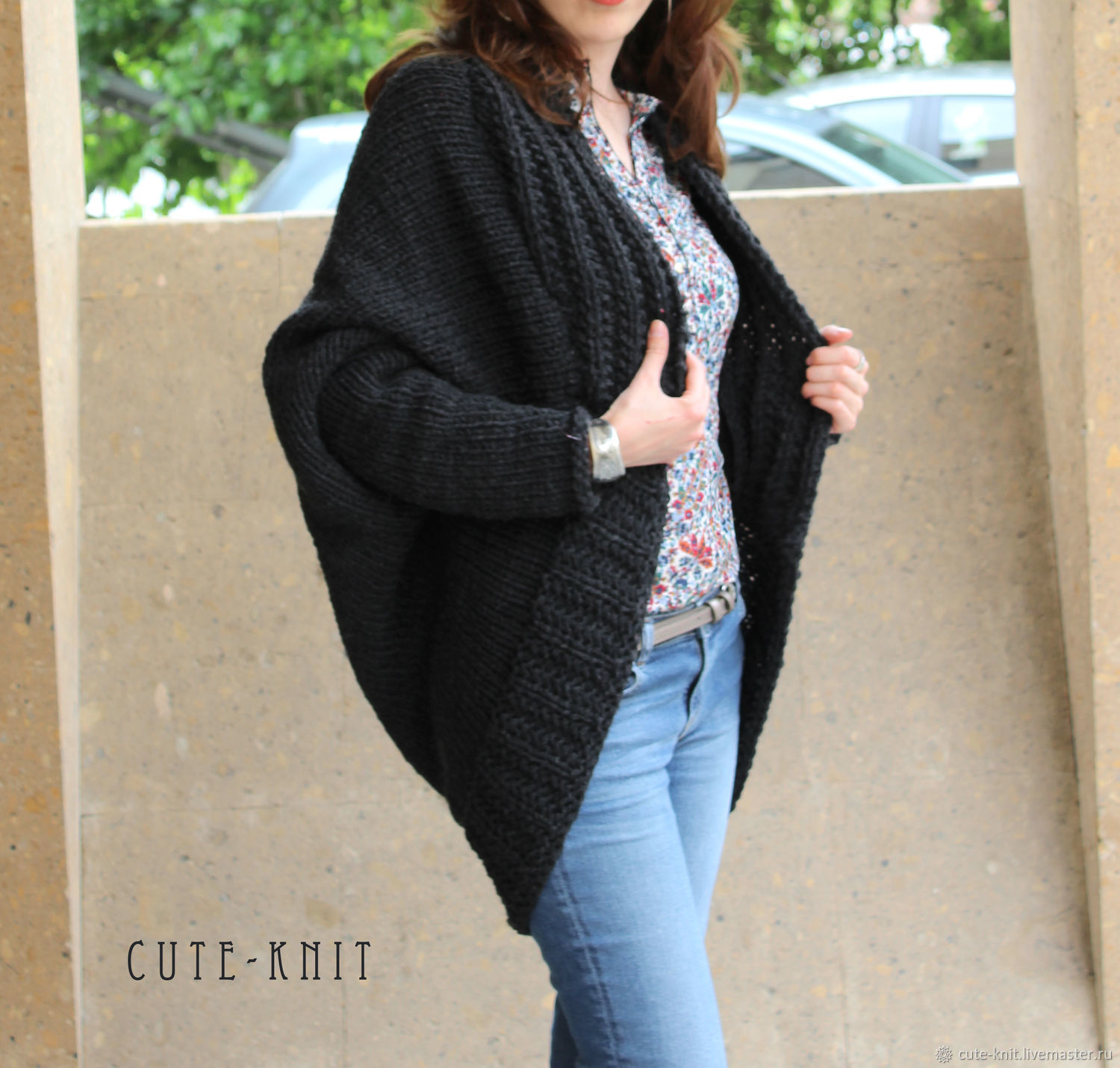 b843671bc8088 CUTE-KNIT NAT Onipchenko of Armormaster to Purchase black cardigan knit ...