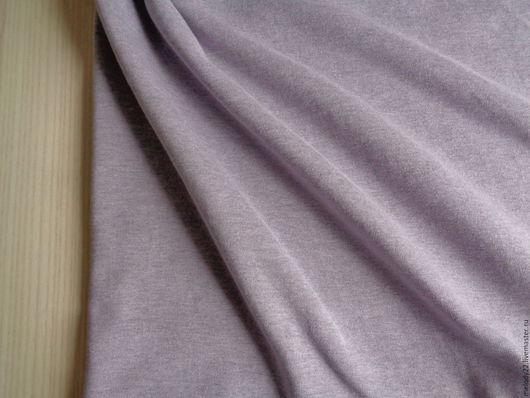 """Шитье ручной работы. Ярмарка Мастеров - ручная работа. Купить Рибана с/л и начесом """"Лиловый меланж"""".. Handmade. Рибана, начес"""