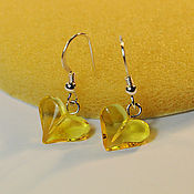Украшения handmade. Livemaster - original item Amber. Earrings