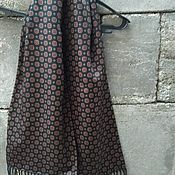 Винтаж handmade. Livemaster - original item Vintage accessories: men`s scarf, wool silk, vintage Germany. Handmade.