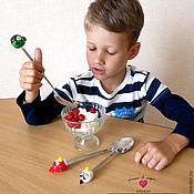 """Посуда ручной работы. Ярмарка Мастеров - ручная работа Вкусные/весёлые ложки """"Angry Birds"""". Handmade."""