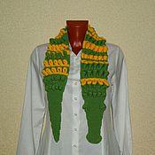 """Работы для детей, ручной работы. Ярмарка Мастеров - ручная работа Детский шарф """"Крокодил"""". Handmade."""