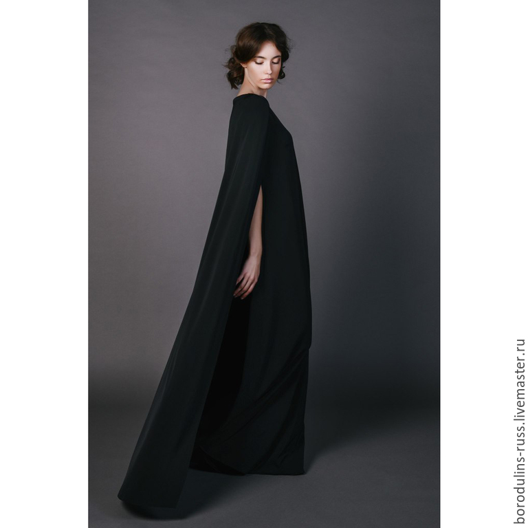 Dress with Cape ' Diana', Dresses, Moscow,  Фото №1
