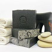 """Мыло ручной работы. Ярмарка Мастеров - ручная работа """"Угольное"""" натуральное мыло с углем. Handmade."""