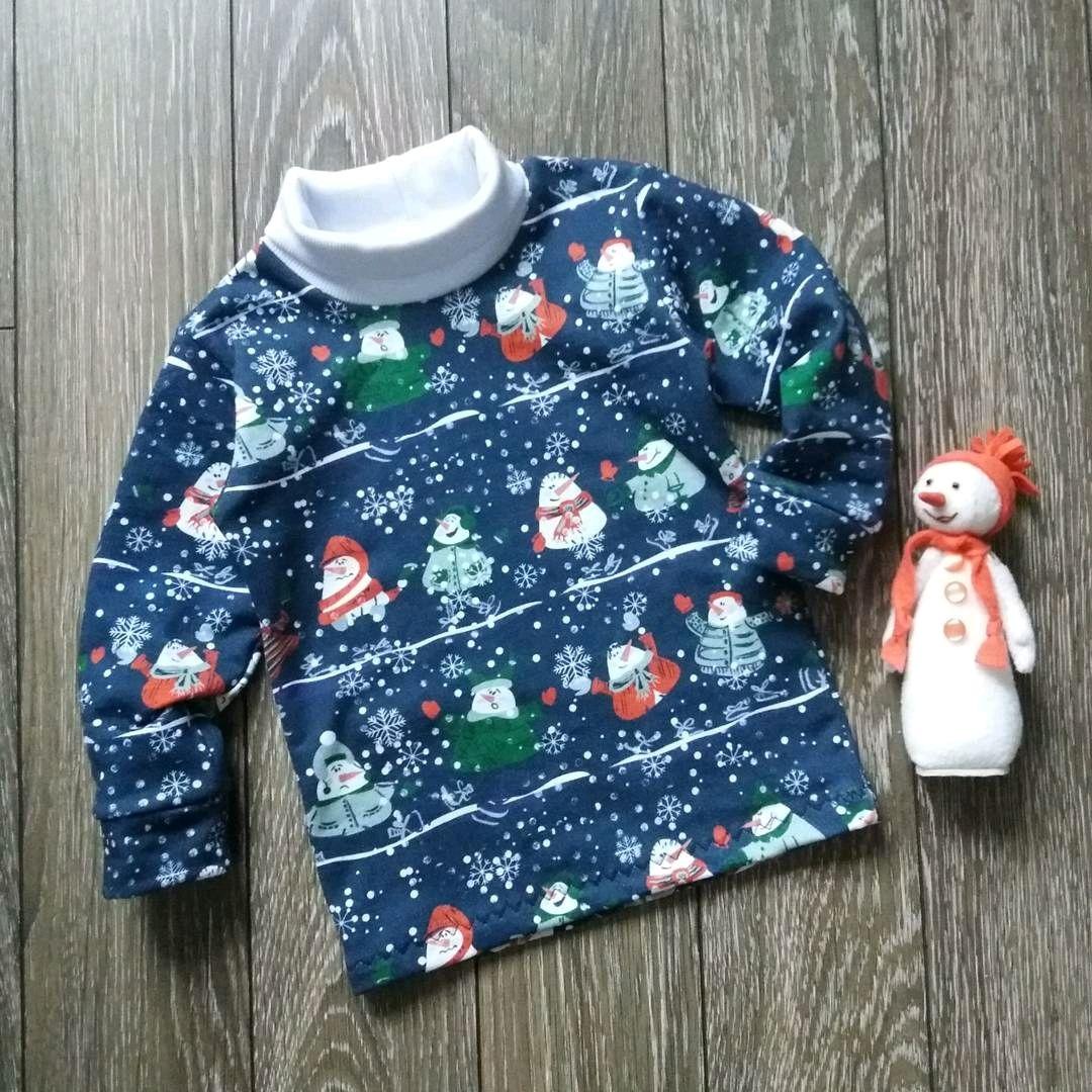 "Водолазка для детей "" Снеговики"", Sweater Jackets, Borskoye,  Фото №1"