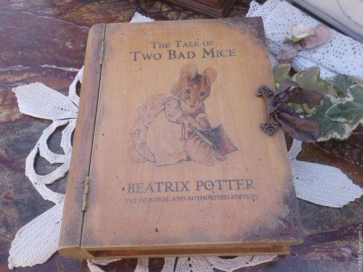 Книга-шкатулка, Ярмарка Мастеров. Подарок ручной работы. Купить книгу-шатулку