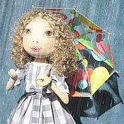 """Куклы и игрушки ручной работы. Ярмарка Мастеров - ручная работа Коллекционная кукла. """"Летний дождь."""". Handmade."""