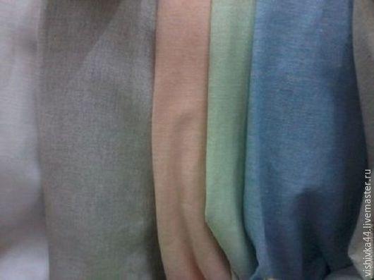 Шитье ручной работы. Ярмарка Мастеров - ручная работа. Купить лен хлопок ткань ширина 220см. Handmade. Лен, тканьхлопок