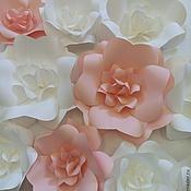 Свадебный салон ручной работы. Ярмарка Мастеров - ручная работа Цветы из бумаги. Handmade.