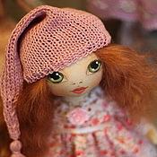 Куклы и игрушки ручной работы. Ярмарка Мастеров - ручная работа Текстильная кукла малышка Лиса.. Handmade.
