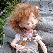 """Куклы и игрушки ручной работы. Ярмарка Мастеров - ручная работа Авторская кукла из пластика  """"Мороженко"""". Handmade."""