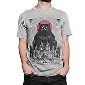 Мужская одежда handmade. Livemaster - original item T-shirt cotton
