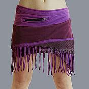 Одежда handmade. Livemaster - original item Skirt-waist fleece