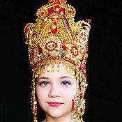 Одежда ручной работы. Ярмарка Мастеров - ручная работа корона для царицы. Handmade.