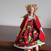 Куклы и игрушки ручной работы. Ярмарка Мастеров - ручная работа Яблочная фея-тильда. Handmade.