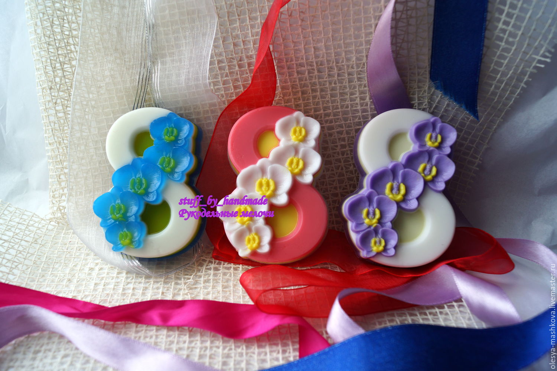 Soaps handmade. Livemaster - handmade. Buy Jabón de 8 de marzo de orquídeas.