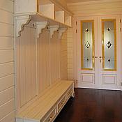 Для дома и интерьера ручной работы. Ярмарка Мастеров - ручная работа Вешалка в прихожую белая. Handmade.