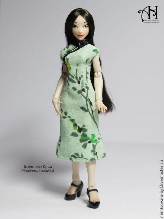 Кукольный дом ручной работы. Ярмарка Мастеров - ручная работа. Купить Акеми (12,5 см). Handmade. Комбинированный