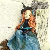 Куклы и пупсы ручной работы. Ярмарка Мастеров - ручная работа Войлочная марионетка «Маргарет». Handmade.
