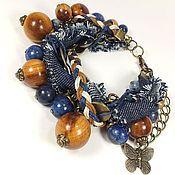 Украшения handmade. Livemaster - original item Miss Jeans. bracelet. Handmade.