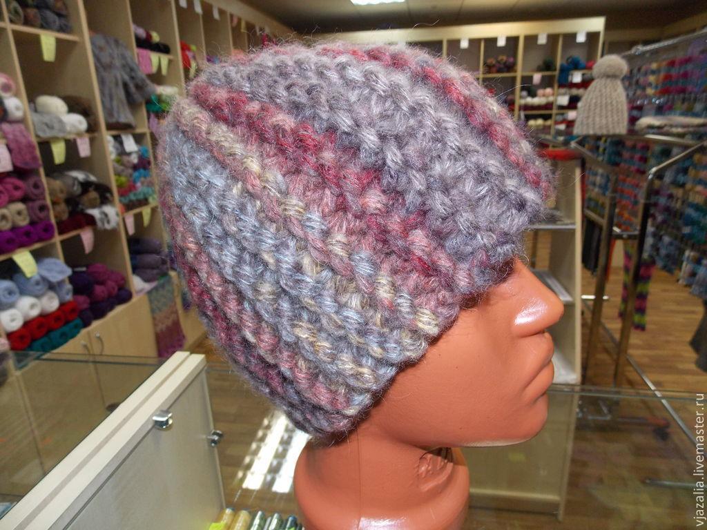 Вязание шапок наша пряжа
