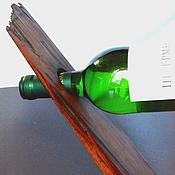 Сувениры и подарки ручной работы. Ярмарка Мастеров - ручная работа Подставка для бутылки вина. Handmade.