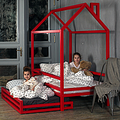 Для дома и интерьера ручной работы. Ярмарка Мастеров - ручная работа №20. Детская кроватка трансформер. Handmade.