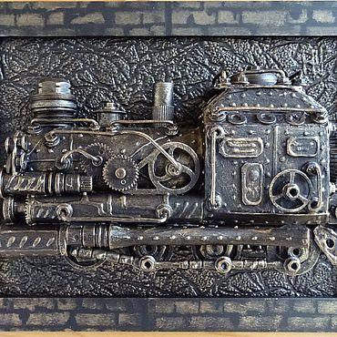 Субкультуры ручной работы. Ярмарка Мастеров - ручная работа Паровоз 16. Handmade.