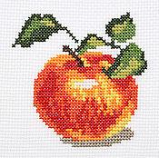 """Картины и панно ручной работы. Ярмарка Мастеров - ручная работа Вышивка """"Яблочко"""" (готовая работа). Handmade."""