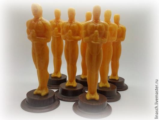 """Мыло ручной работы. Ярмарка Мастеров - ручная работа. Купить Мыло """"Оскар"""". Handmade. Золотой, подарки для гостей, сувенир"""