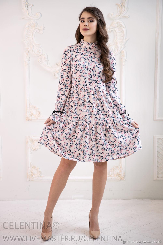 7636d9e6ed0 Handmade · Платья ручной работы. Белое Летнее платье. Celentina.  Интернет-магазин Ярмарка Мастеров. ...
