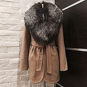 Одежда ручной работы. Ярмарка Мастеров - ручная работа Пальто с фигурным низом. Handmade.