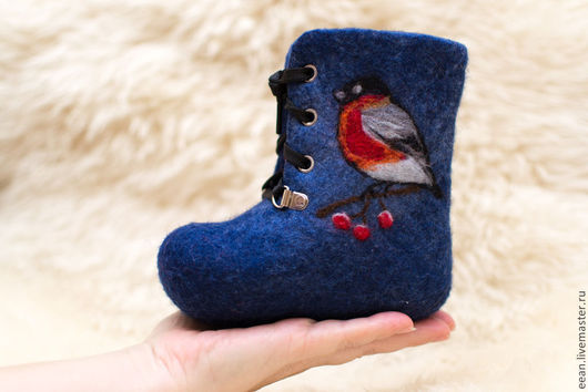 Детская обувь ручной работы. Ярмарка Мастеров - ручная работа. Купить Валенки для малыша. Handmade. Теплая обувь для детей