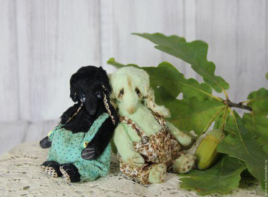 Мишки Тедди ручной работы. Ярмарка Мастеров - ручная работа. Купить Мини-слоники (10 см). Handmade. Слон, опилки