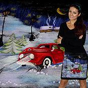 """Платья ручной работы. Ярмарка Мастеров - ручная работа Платье """"Новогодняя сказка"""". Handmade."""