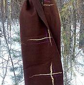Палантины ручной работы. Ярмарка Мастеров - ручная работа Мужской валяный шарф. Handmade.