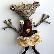 Куклы и игрушки ручной работы. Ярмарка Мастеров - ручная работа Царевна лягушка. Handmade.