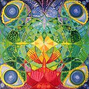 Фен-шуй и эзотерика handmade. Livemaster - original item Mandala of Creativity, 50h50. Handmade.